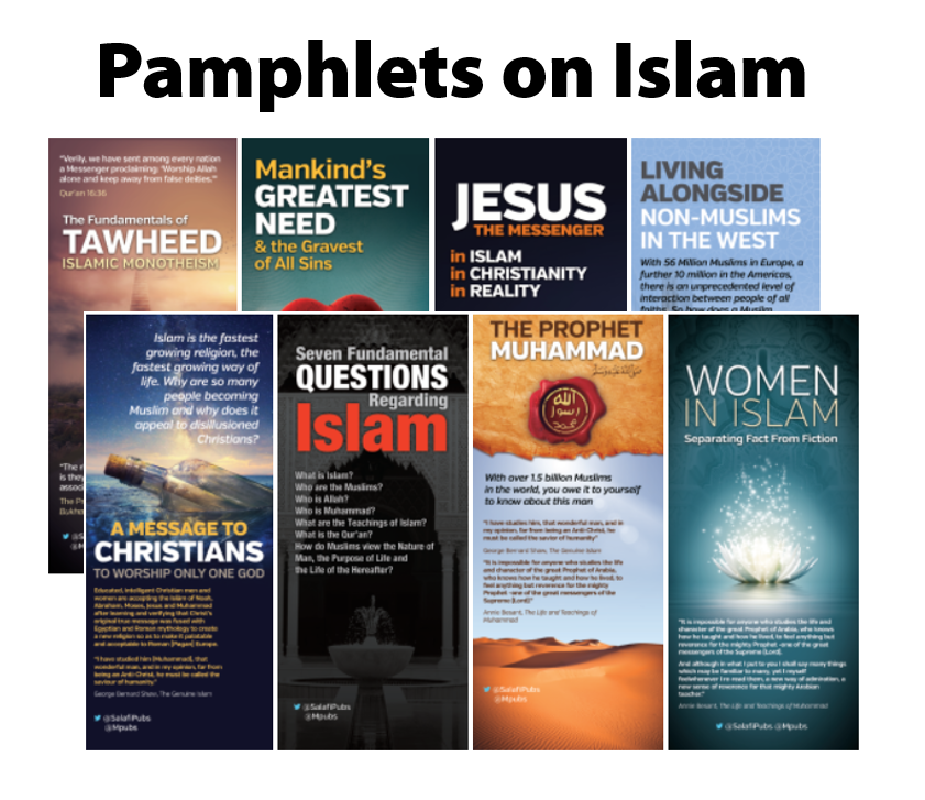 Pamphlets on Islam